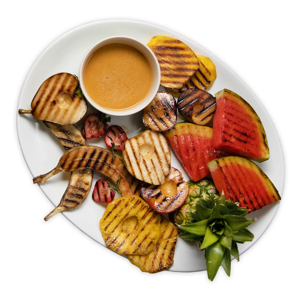 Tangy Grilled Fruit Sauce