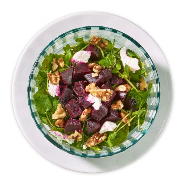 Simple Beet Salad with Mustard Vinaigrette Recipe