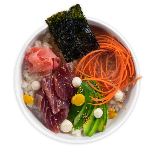 Sushi Bowl Plate