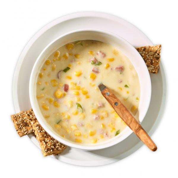 Curl Up Corn Chowder Recipe